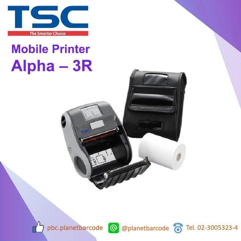 TSC Alpha 3R เครื่องพิมพ์แบบพกพา