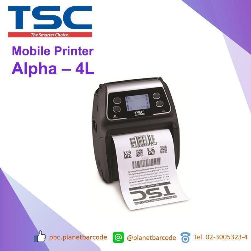 TSC Alpha-4L Mobile Printer