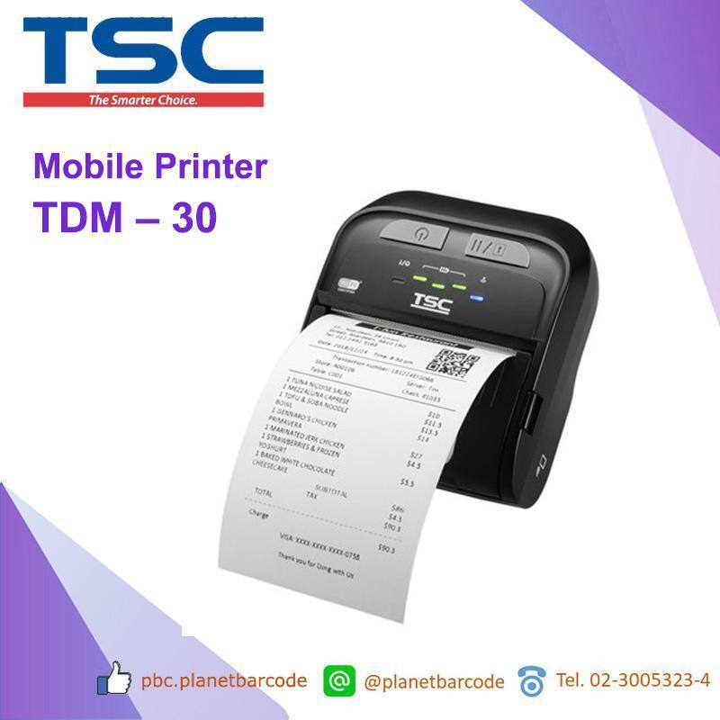 TSC TDM - 30 Mobile Printer