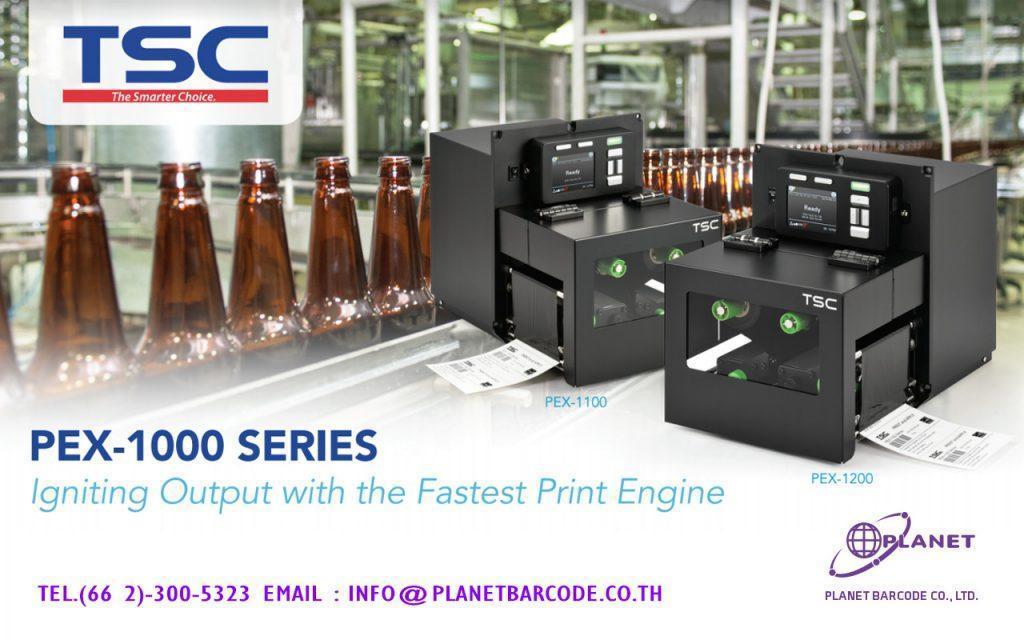 TSC PEX – 1000 PRINT – เครื่องพิมพ์ลาเบลอุตสาหกรรม