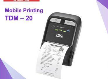 TSC TDM – 20 Mobile Printing