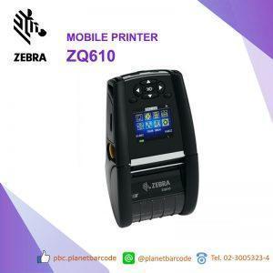 เครื่องพิมพ์ Zebra ZQ610 Mobile Printer