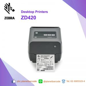เครื่องพิมพ์ Zebra ZD420 Desktop Printer