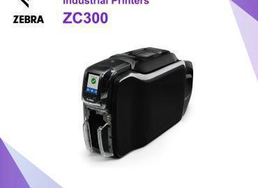 เครื่องพิมพ์การ์ด Zebra ZC300 Card Printer