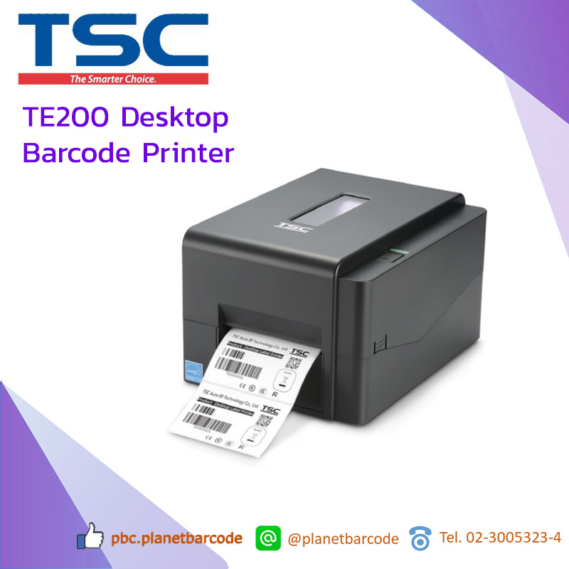 TSC TE200 Desktop Barcode Printer