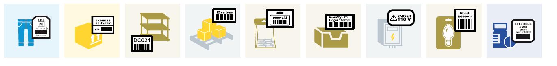 ริบบอน แว๊กซ์ เกรดพรีเมี่ยม Sticker Ribbon และกระดาษความร้อน