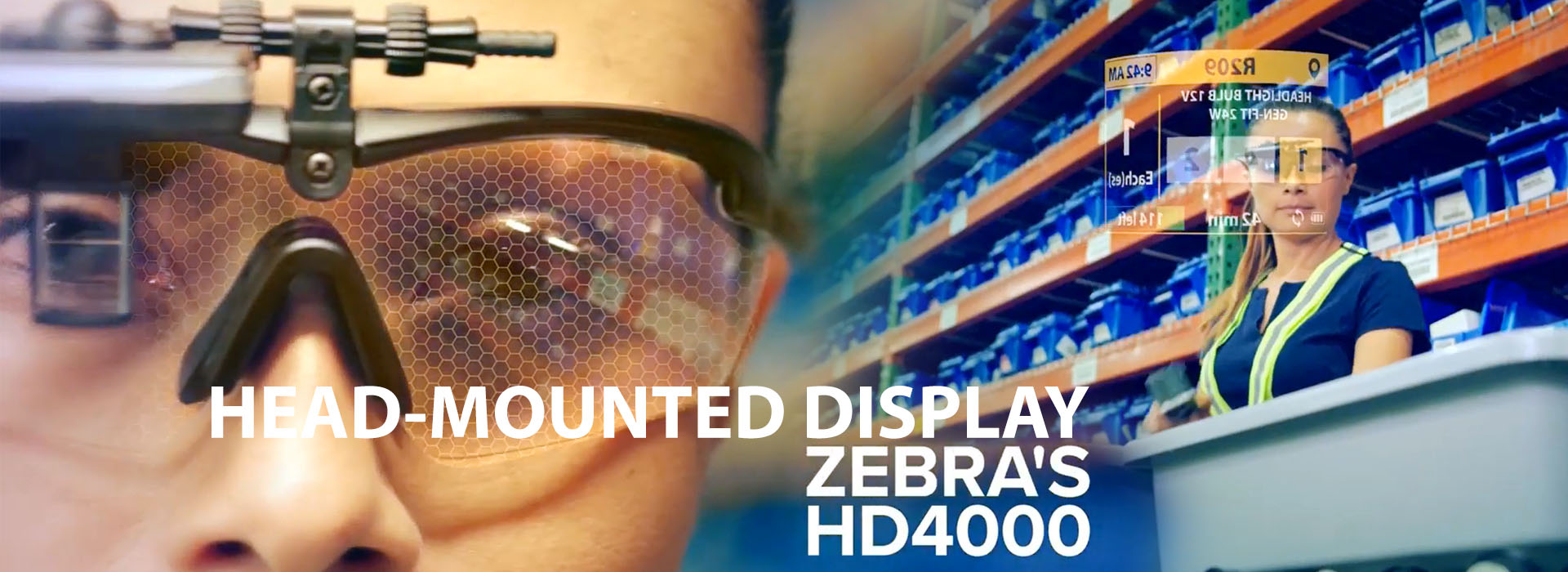 HEAD-MOUNTED DISPLAY Zebra HD4000