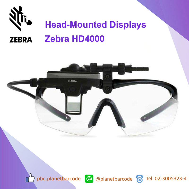 Zebra HD4000 Head-Mounted Displays