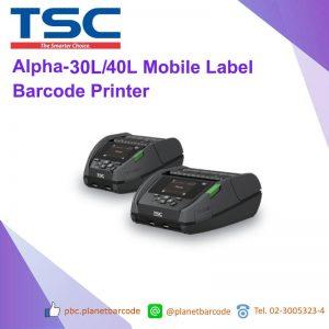 TSC Alpha-30L/40L Mobile Label Barcode Printer